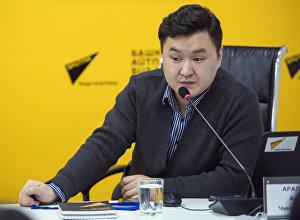 Старший журналист информационного агентства и радио Sputnik Кыргызстан Азамат Аралбаев провел мастер-класс для студентов факультета журналистики КНУ имени Жусупа Баласагына