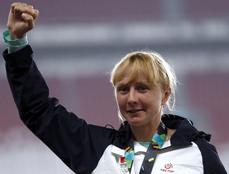 Кыргызстанская бегунья Дарья Маслова завоевала золотую медаль на Азиатских играх
