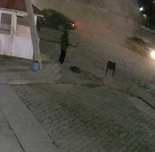 Бишкектик автоинспекторлор артынан сая түшүп, айдоочу каза таптыбы? Кырсыктын видеосу