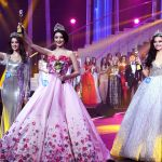 Участницы, победившие в международном конкурсе Посланница красоты в Маньчжурии