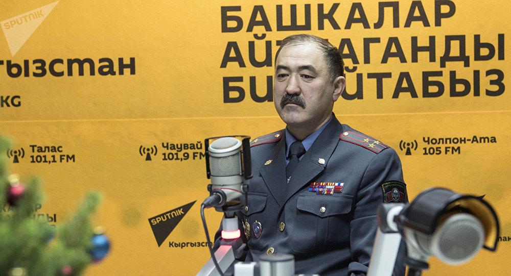 Бишкек ШИИББинин башчысынын биринчи орун басары Нурбек Калыкеев
