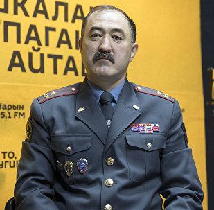 Бишкек ШИИББдин башчысынын биринчи орун басары Нурбек Калыкеев
