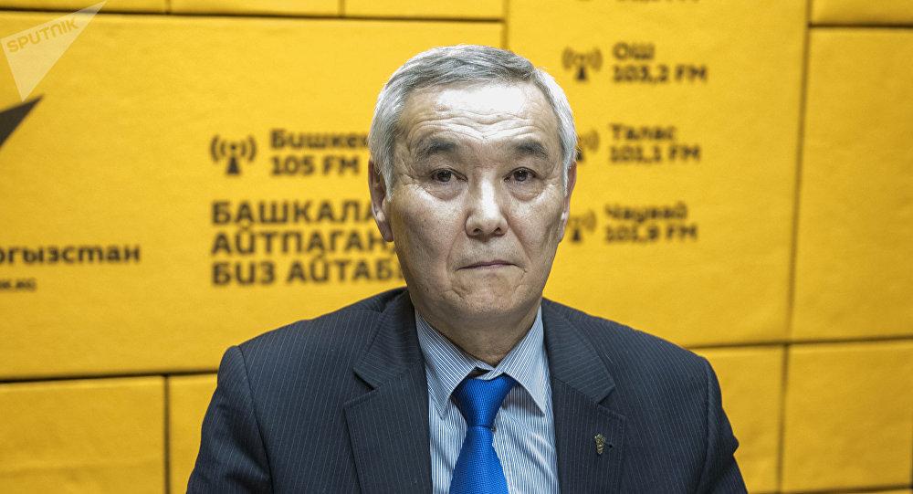 Соода-өнөр жай палатасынын улук вице-президенти Амангелди Давлеталиев. Архив
