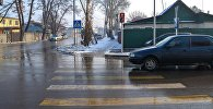 Установка светофора на перекрестке улиц Баялинова и Орозбекова