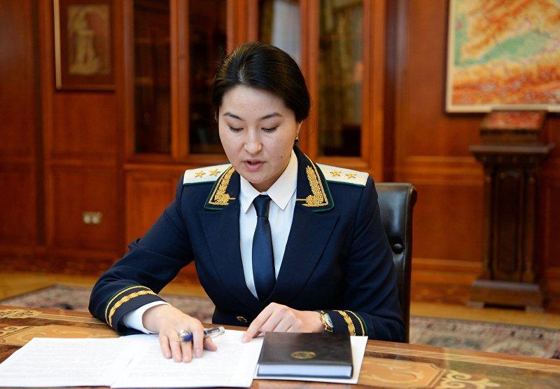 Генеральный прокурор Кыргызской Республики Индира Джолдубаева