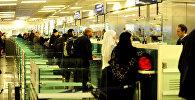 Пассажиры в аэропорту Турции. Архивное фото