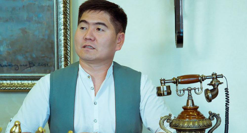 Той-салтанаттарды уюштуруу компаниясынын өкүлү Акыл Ирсалиев. Архив