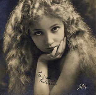 Американская актриса немого кино Бесси Лав, 1920 год