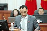 Экс-депутат ЖК Музаффар Исаков. Архивное фото