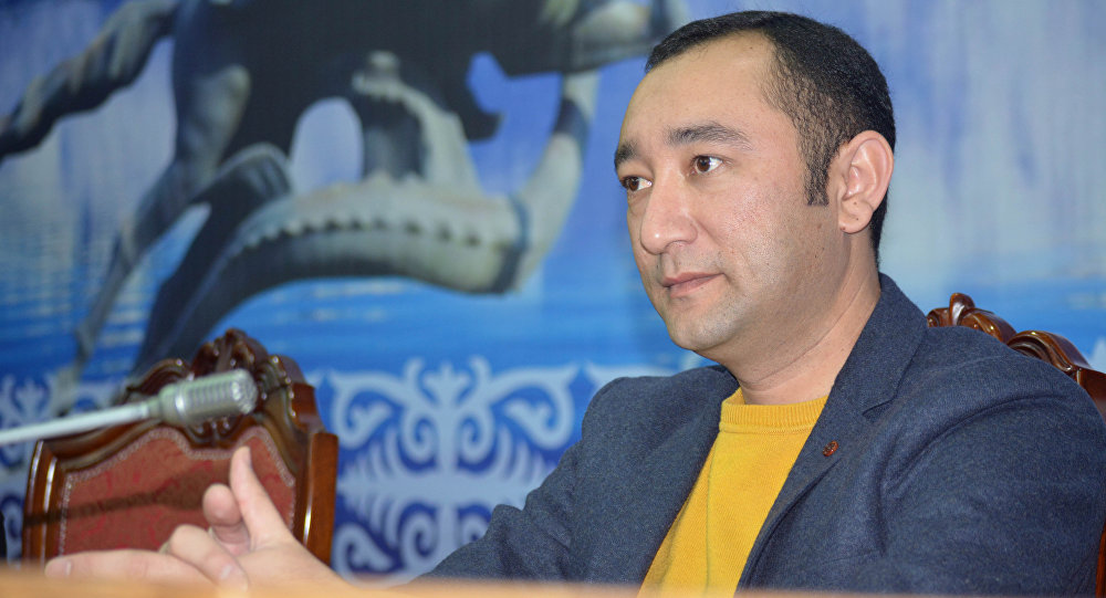 Экс-депутат Жогорку Кенеша от фракции СДПК Музаффар Исаков. Архивное фото