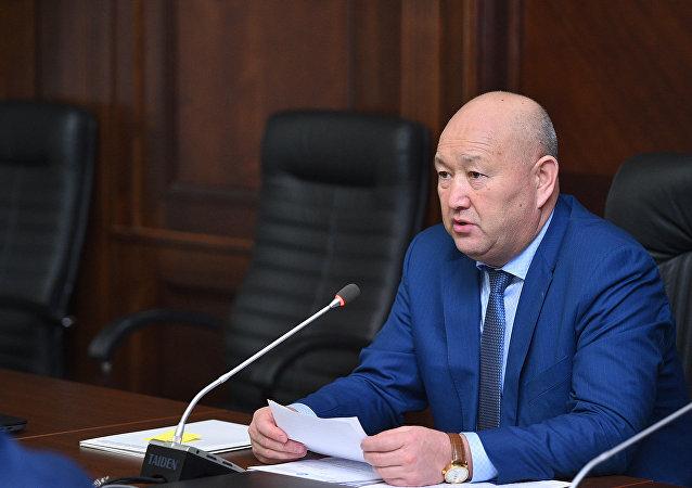Вице-премьер-министр КР Жениш Разаков. Архивное фото