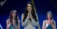 Победительница конкурса красоты Мисс Беларусь — 2018 Мария Василевич. Архивное фото