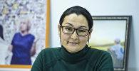 Филология илимдеринин кандидаты, адабиятчы Гүлзада Станалиеванын архивдик сүрөтү