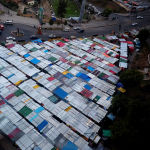 Рождественская ярмарка в боливийском Ла-Пасе