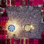 Рождественская ярмарка на главной площади Тираны (Албания)