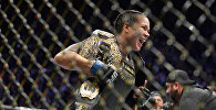 Кыз-келиндер арасында жеңил салмак боюнча UFC уюмунун учурдагы чемпиону Аманда Нуньес. Архив