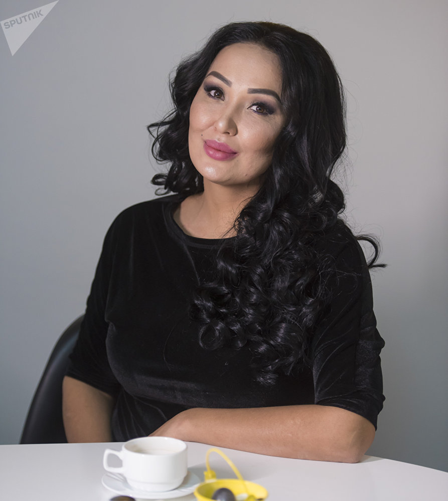 Победительница конкурса красоты Мисс Кыргызстан — 1999 Милита Мадалиева