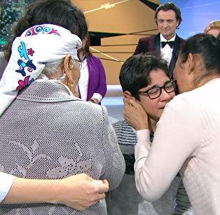 Француздар асырап алган кыргыз бала 11 жылдан кийин туугандарын тапты. Видео