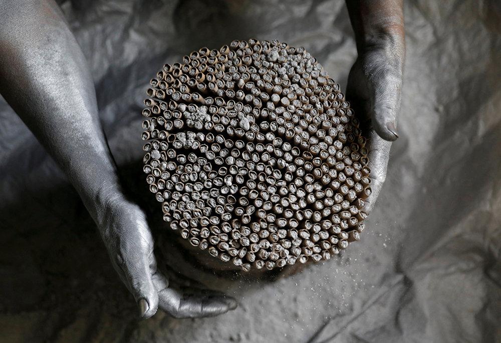 Фабрика по изготовлении фейерверков в Филиппинах