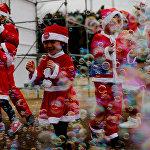 Tokyo Great Santa Run 2018 в Японии