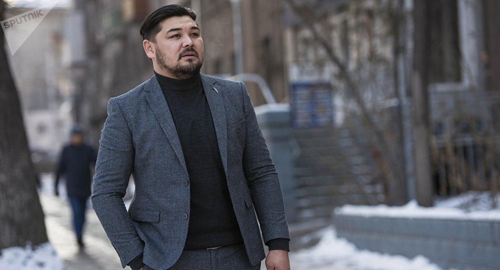 Актер Эржан Осмонов