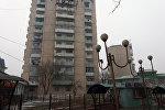 12-этажный дом в районе Ошского района. Архивное фото