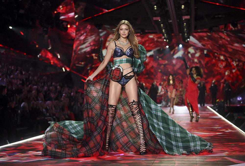 Лицо нескольких линий Tom Ford, модель Victoria's Secret Джиджи Хадид на седьмом месте с 9,5 миллиона долларов