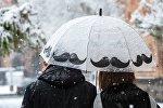 Снег в Ереване