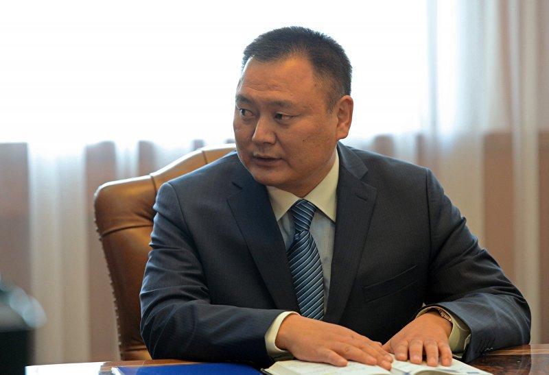 Председатель Фонда по управлению государственным имуществом Дуйшенбек Зилалиев