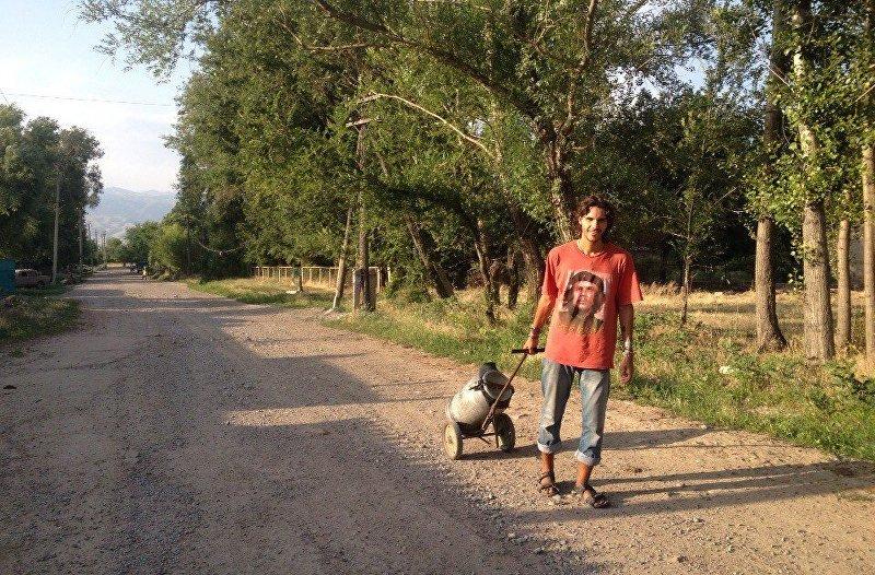 Путешествие по Кыргызстану туриста Данила Линдэле