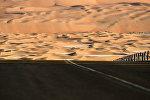 Пустыня в ОАЭ. Архивное фото