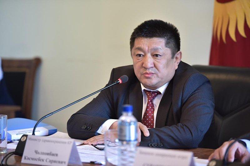 Министр здравоохранения Кыргызстана Космосбек Чолпонбаев
