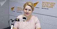 Директор молдавского Центра общественного здоровья муниципия Луминица Сувейкэ. Архивное фото