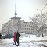 Здание Академии наук Киргизской ССР