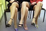 Девушки в юбках. Архивное фото