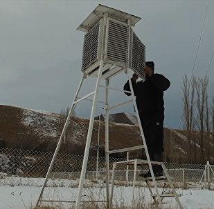 Как делается прогноз погоды в Кыргызстане. Объясним за 2 минуты — видео