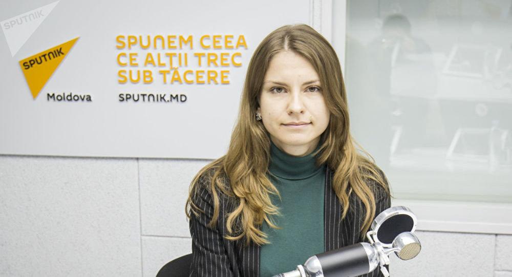 Молдавский психолог Анастасия Коврова. Архивное фото