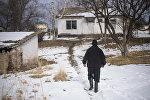 Житель села. Архивное фото
