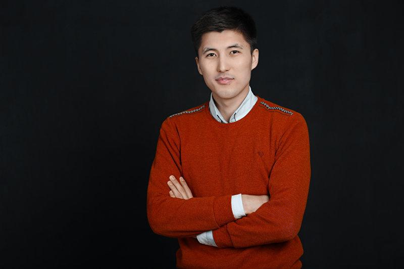 Молодой маркетолог Темирхан Жолонбеков