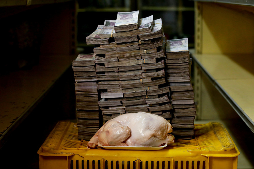 Огромная инфляция в Венесуэле