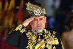 Малайзия Королу султан Мухаммед V. Архивдик сүрөт