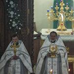 Рождественское богослужение состоялось в ночь с 6 на 7 января