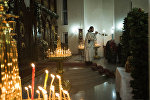 Праздничное богослужение к рождеству Христово в Бишкеке