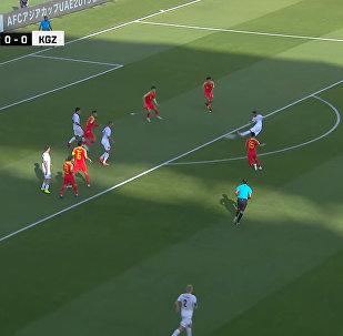 Все голы матча Кыргызстан — Китай на Кубке Азии. Видео