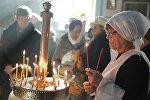 В Оше прошло богослужение по случаю празднования Рождества Христова