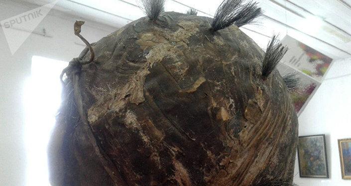 Скульптура художника Кадыра Мусаева