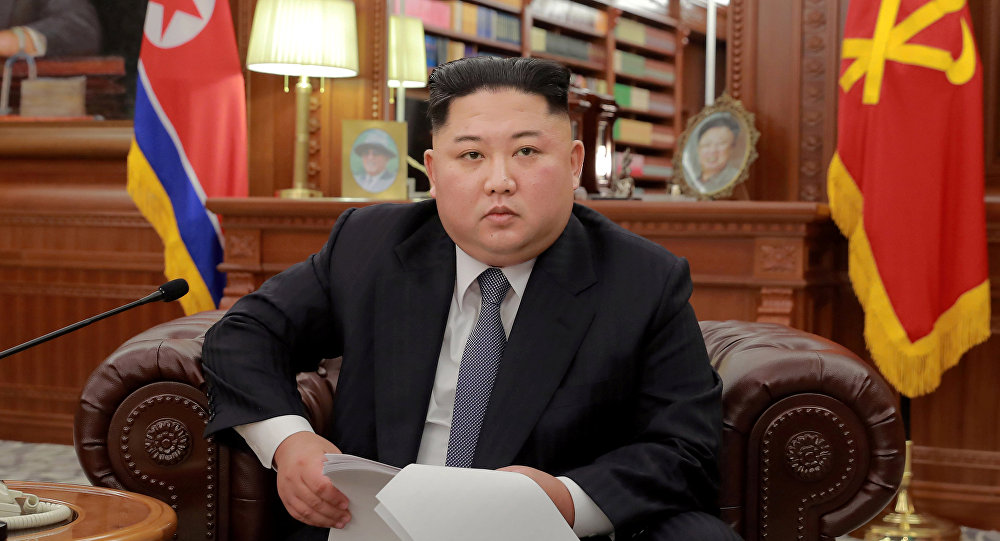 Түндүк Кореянын президенти Ким Чен Ын