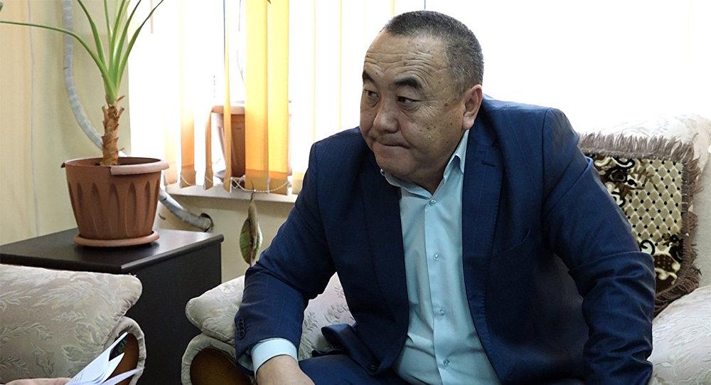 Директор Госагентства автомобильного и водного транспорта Анарбек Бекмуратов. Архивное фото