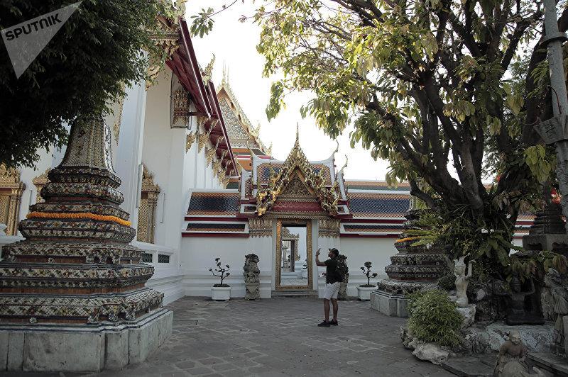 Храм Ват Пхо, в котором появился тайский массаж