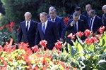 Заседание Совета глав государств СНГ в Душанбе. Архивное фото